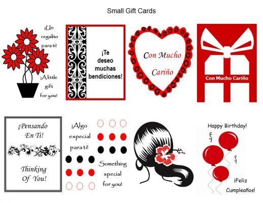 Gift Tags Small Gift Cards Small Holiday Cards Christmas Gift Tags