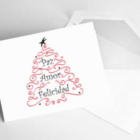 navidad-tarjetas-navideñas-spanish-bilingual-holiday-christmas-cards